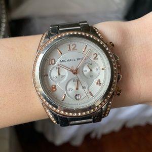Michael Kors Stainless Steel Bracelet Watch 37mm
